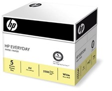 HP Everyday A4 Multifunctional Paper 75gsm - 1 Box of 5 Reams (Pack of 5)
