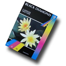50 Sheets - Black Diamond White A3 220gsm Matt Canvas Inkjet Paper for Professional Photographic and