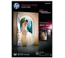 Hewlett Packard A4 Premium Plus Photo Paper