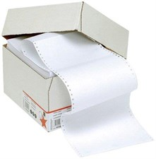 5 Star Listing Paper 1-Part 60gsm 11inchx368mm Ruled [2000 Sheets]